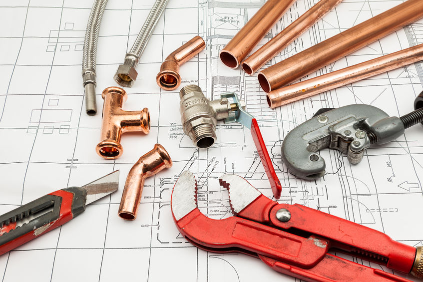 Tools used for home water heater repair services in Tulsa, OK